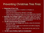 preventing christmas tree fires17