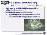 6 1 2 solder joint reliability