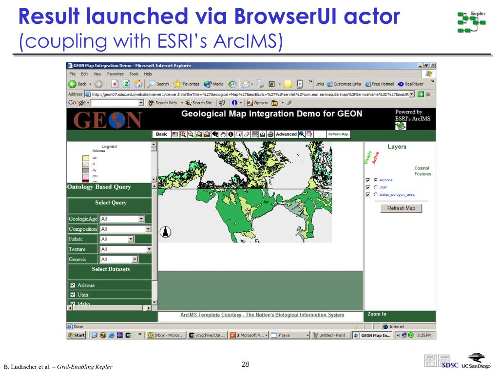 Result launched via BrowserUI actor