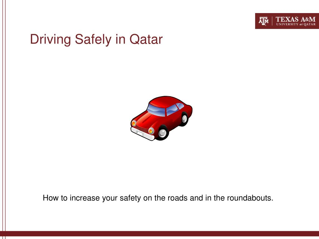 driving safely in qatar l.