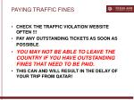 paying traffic fines