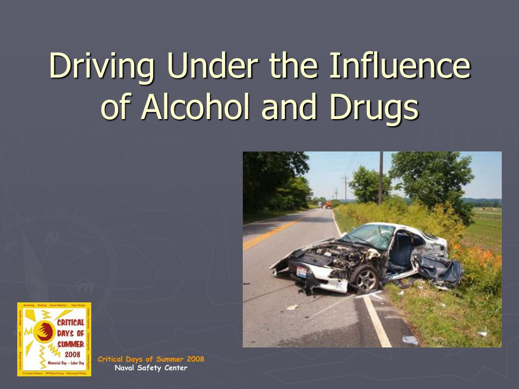 driving under the influence of alcohol and drugs l.