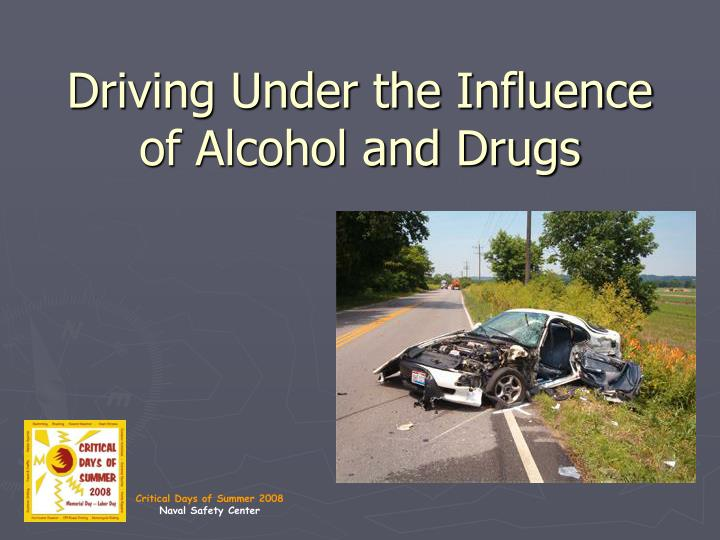 an introduction to the issue of accidents involving people under the influence of alcohol or drugs Section will only highlight some issues and data involving the under the influence of alcohol will have use of alcohol and drugs on children.