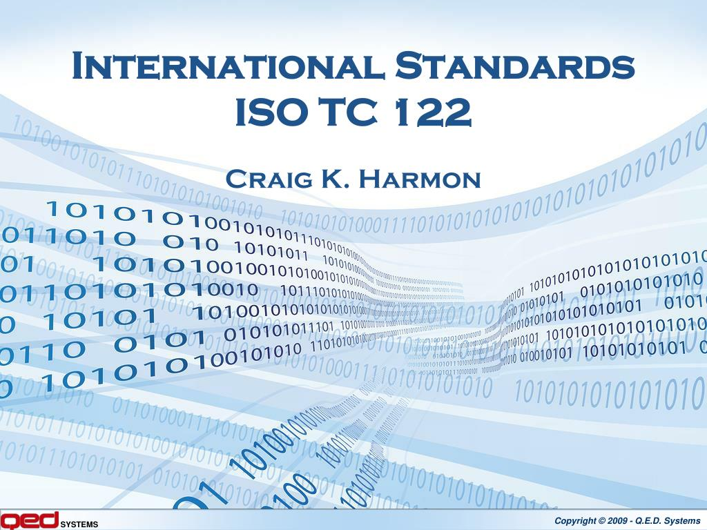 international standards iso tc 122 l.