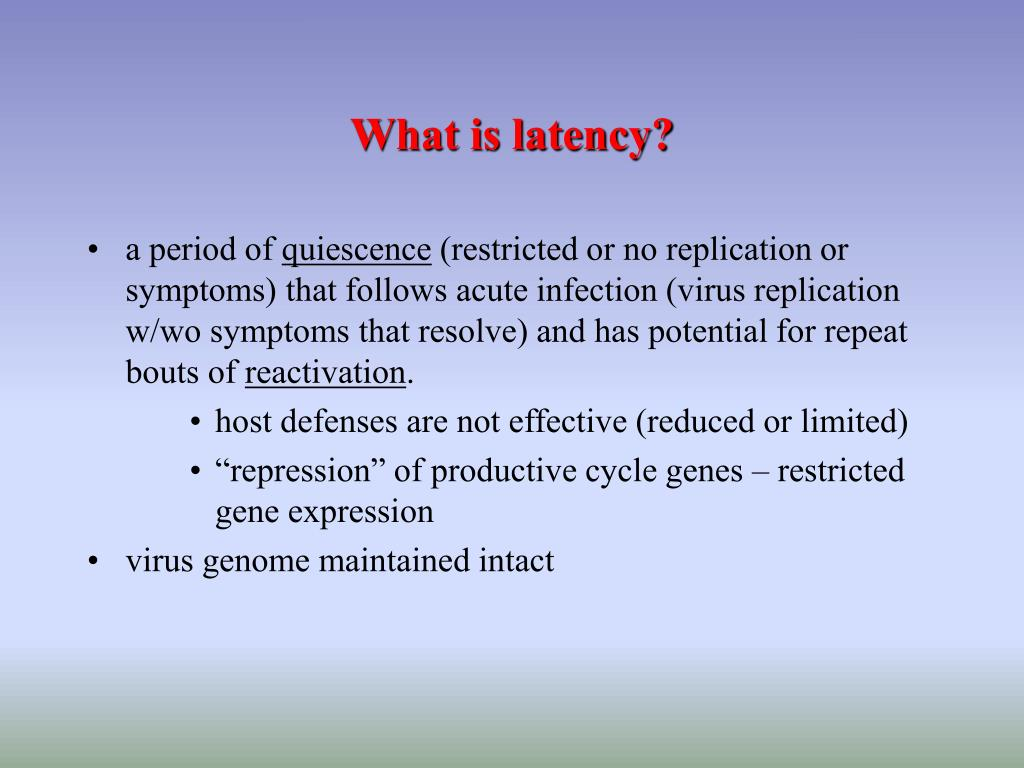 PPT - LATENCY, LYSOGENY and SYMBIOSIS PowerPoint Presentation - ID
