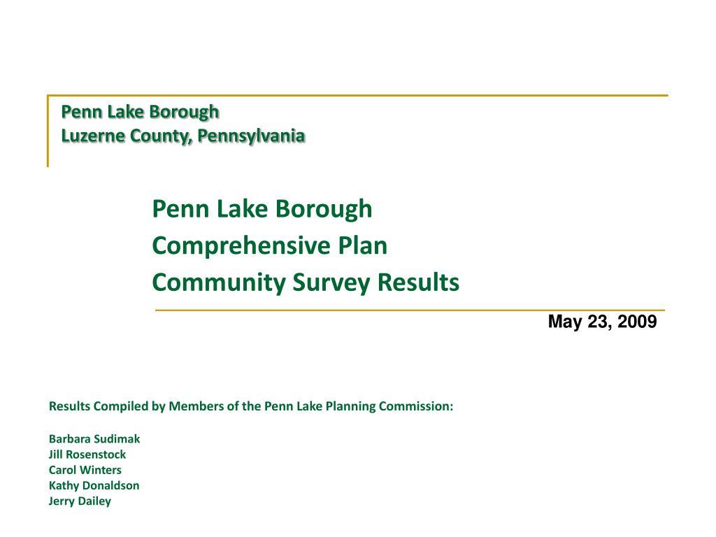 Penn Lake Borough