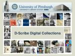 d scribe digital collections