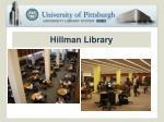 hillman library