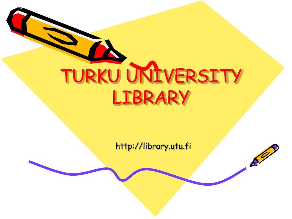 turku university library l.