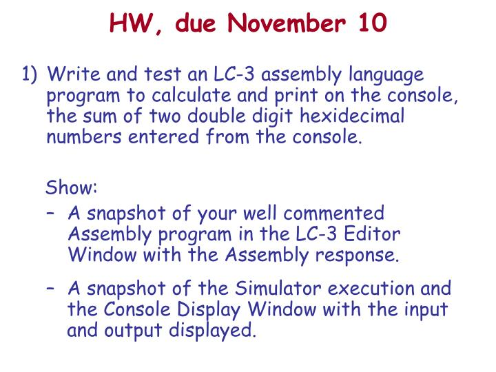 Ppt Introduction To Lc 3 Assembly Language Powerpoint Presentation