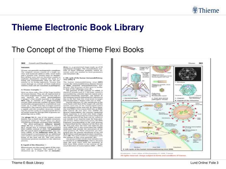 Thieme electronic book library3
