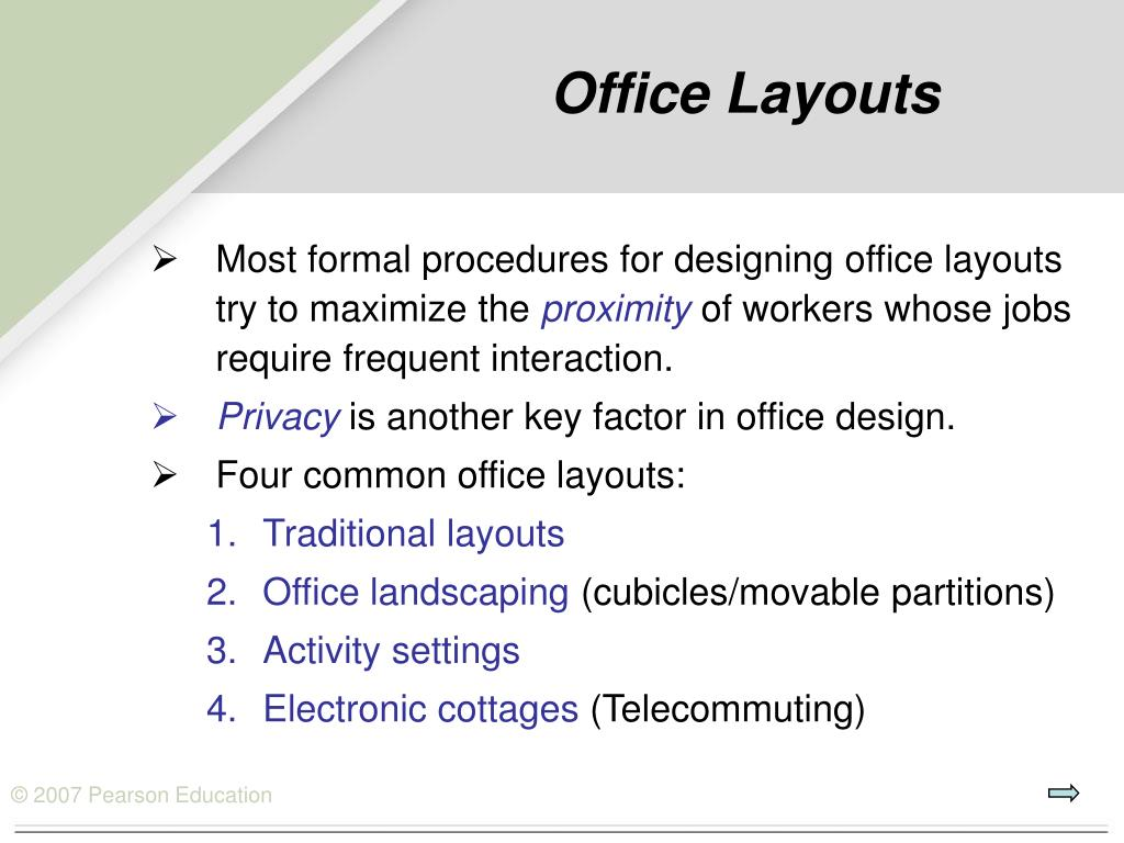 Office Layouts