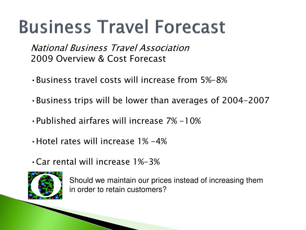 Business Travel Forecast