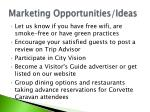 marketing opportunities ideas45