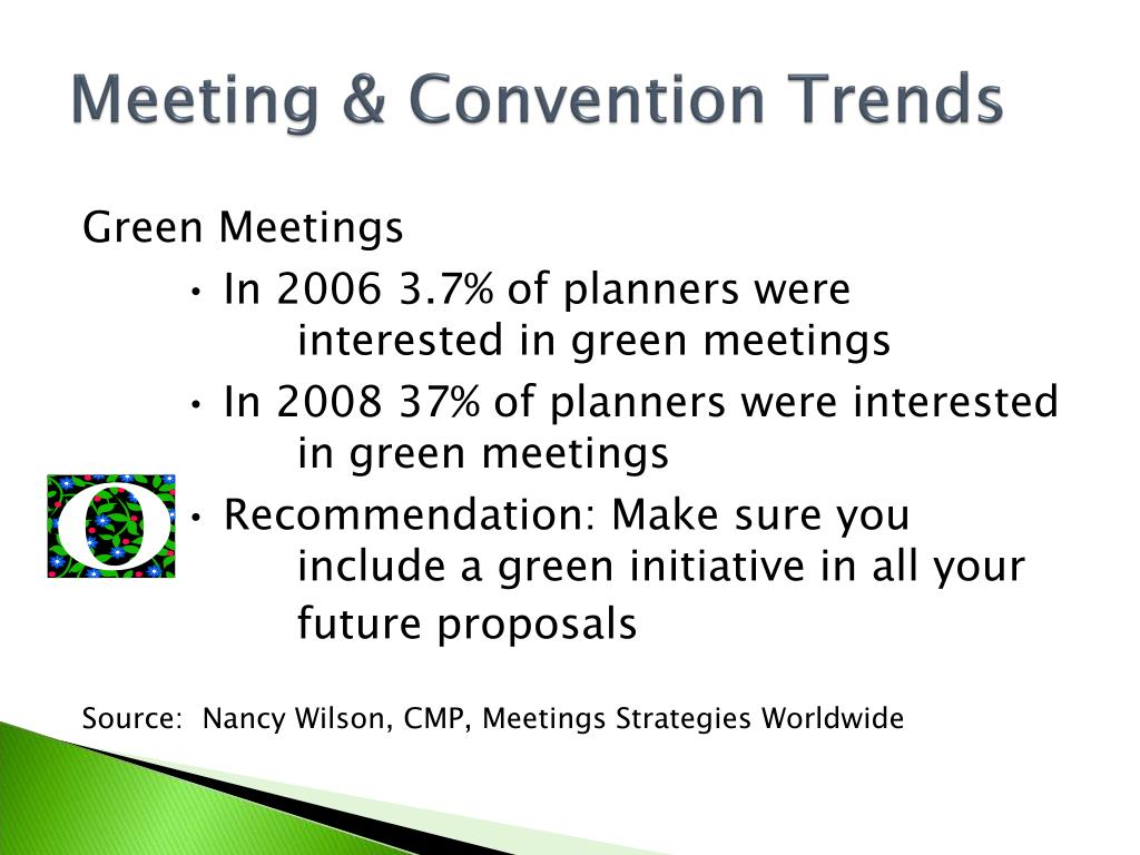 Meeting & Convention Trends