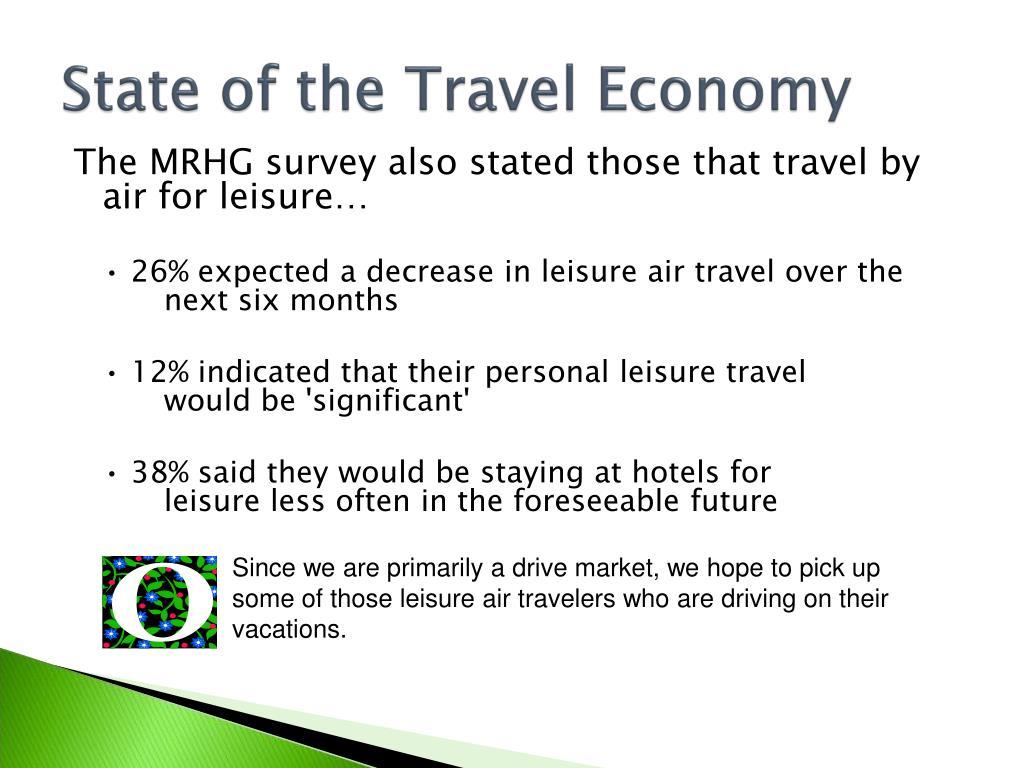 State of the Travel Economy