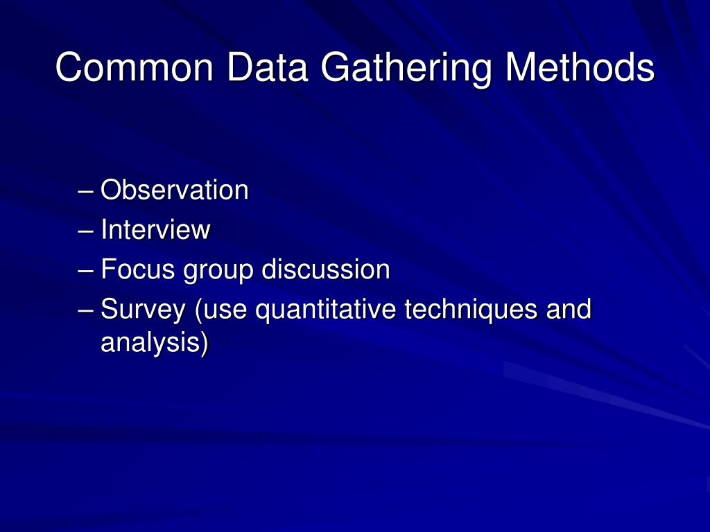 Mentor and Coach Data Gathering