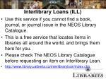 interlibrary loans ill