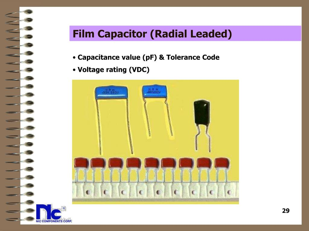 Film Capacitor (Radial Leaded)