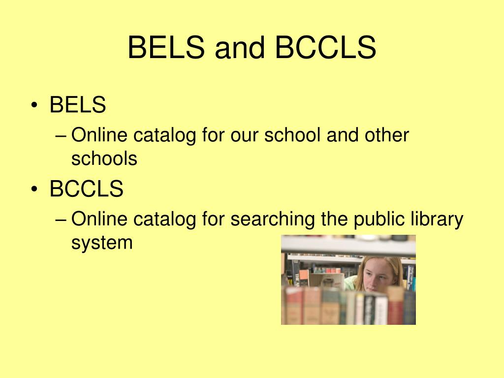 BELS and BCCLS