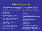 acknowledgements