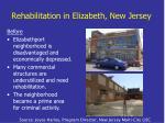 rehabilitation in elizabeth new jersey