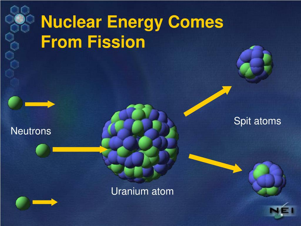 Spit atoms