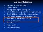 learning outcomes57