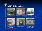 nus libraries