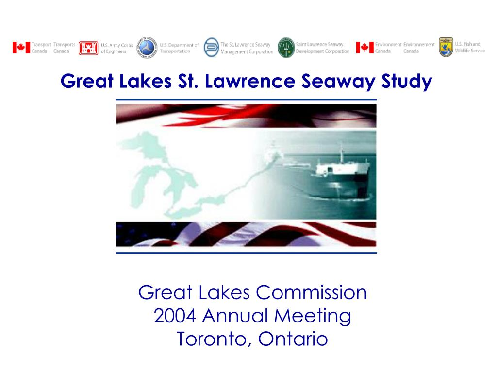 great lakes commission 2004 annual meeting toronto ontario l.