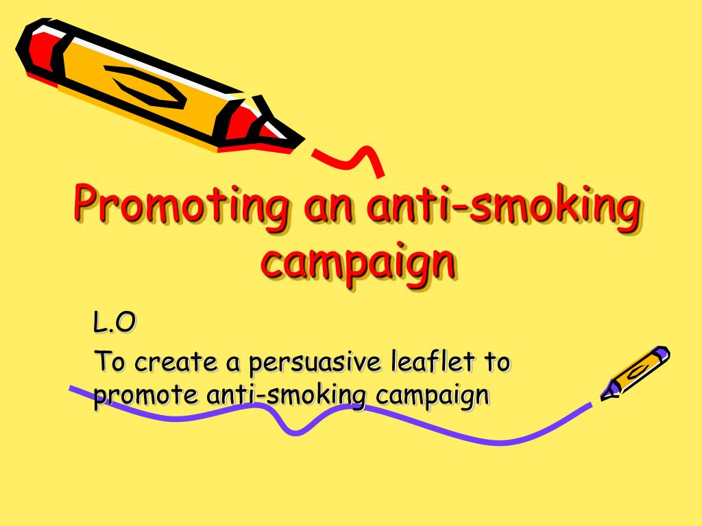 anti smoking speech