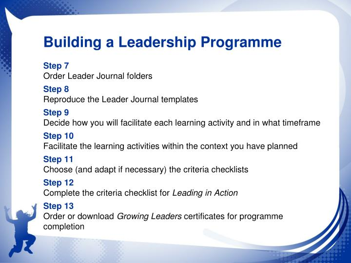 Building a Leadership Programme