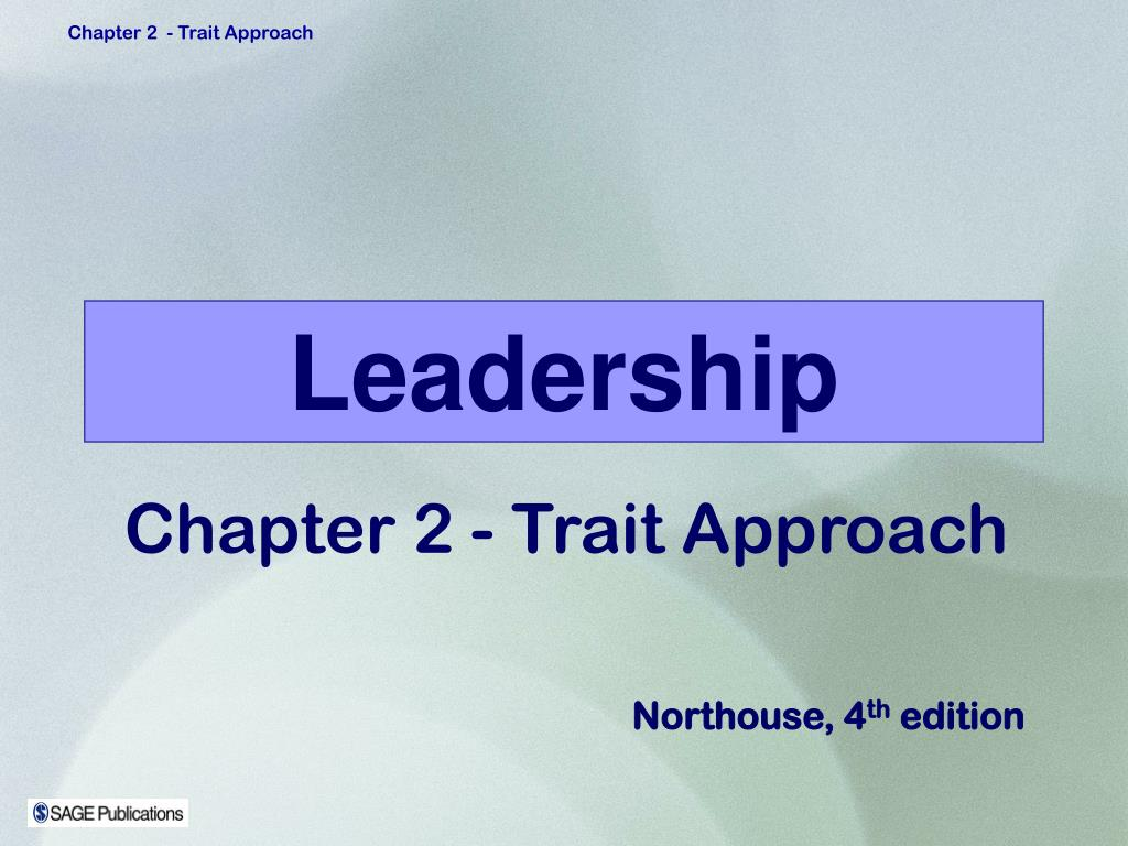 two approaches of leadership and leadership Leadership is a process by which a person influences others to accomplish an objective and directs the organization in a way that makes it more cohesive and coherent this.