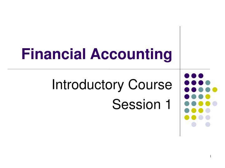 introductory course session 1 n.