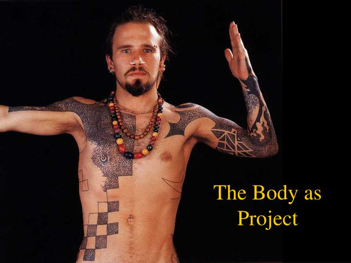 the body as project n.