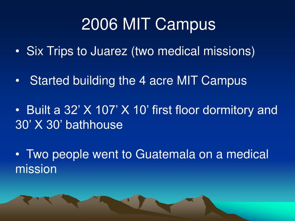 2006 MIT Campus