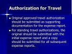 authorization for travel5
