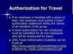 authorization for travel6