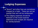 lodging expenses24