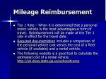 mileage reimbursement26