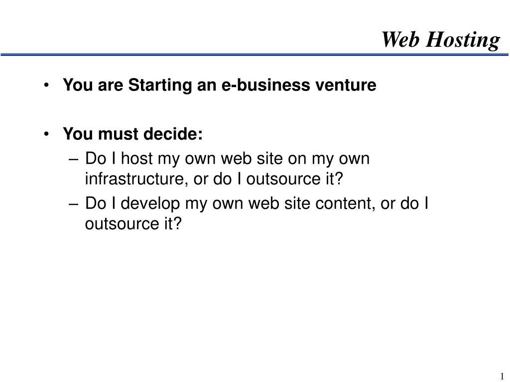 web hosting l.
