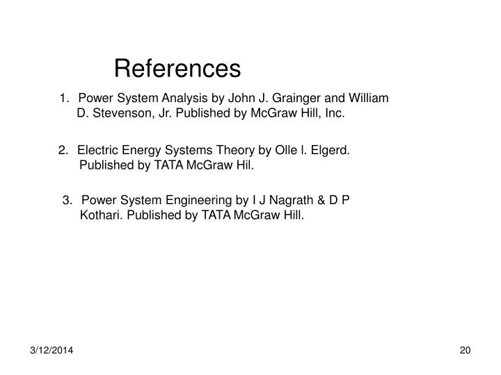 electric energy systems theory an introduction by olle i elgerd