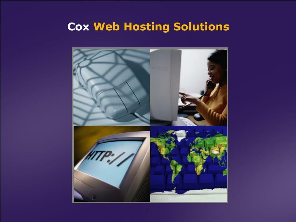 cox web hosting solutions l.