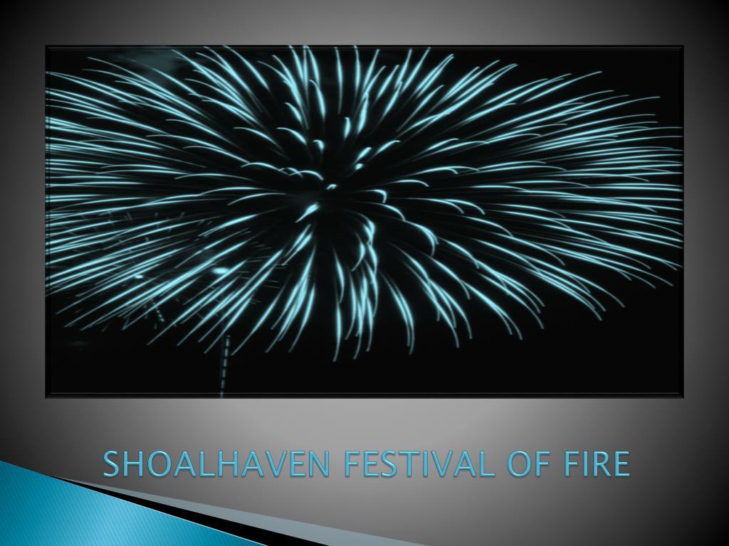 shoalhaven festival of fire l.