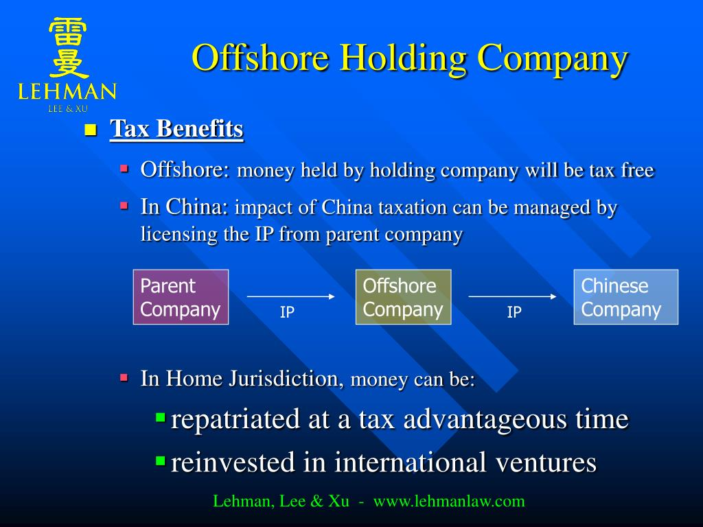 Offshore Holding Company