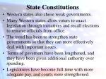 state constitutions11