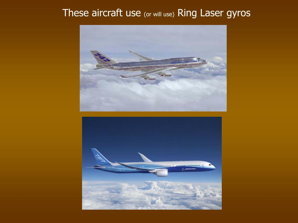 These aircraft use