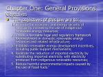 chapter one general provisions14