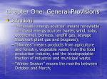 chapter one general provisions15