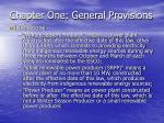 chapter one general provisions16